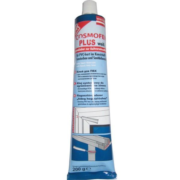 Клей для ПВХ Космофен, белый (жидкий пластик).