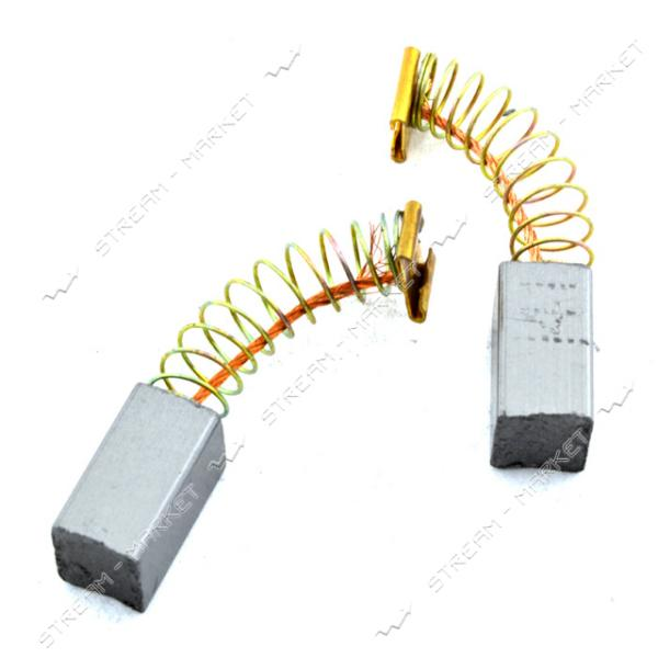 Угольные щетки Hitachi H24 6.3х10х12 пружинные коннектор мама