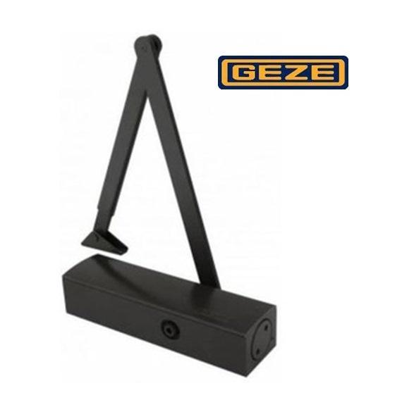 Доводчик дверей Geze TS 2000 VВС коленная тяга (EN 2-5), чёрный.