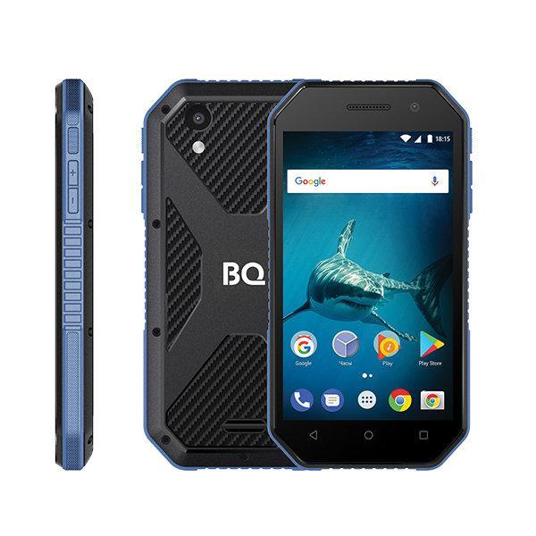 Компактный ударопрочный смартфон BQ-4077 Shark Mini
