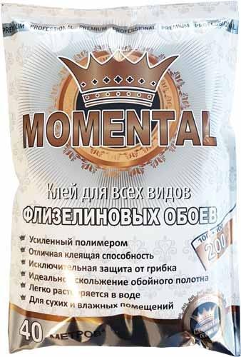 """Клей для флизелиновых обоев """"Momental Flizelin"""" / """"Моментал Флизелин"""""""