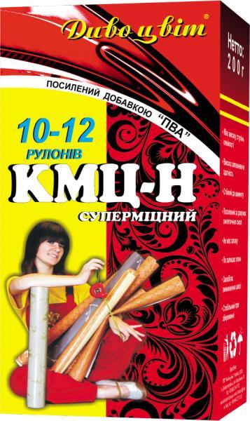 """Клей для обоев """"КМЦ - Н"""" + ПВА (10 - 12 рулонов)"""