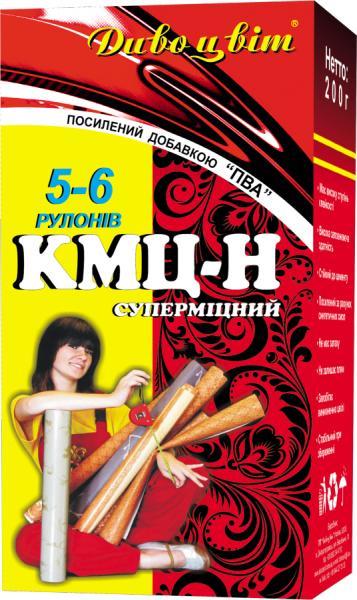 """Клей для обоев """"КМЦ - Н"""" + ПВА 5 - 6 рулонов"""