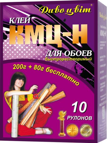 """Клей для обоев """"КМЦ - Н"""" 200 г + 80 г бесплатно"""
