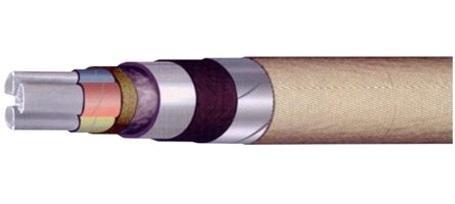 Кабель ЦААБл-10 силовой бронированный