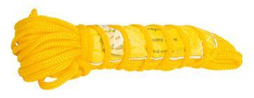 Веревка хозяйственная  плетёная с наполнителем В-27 (4 мм, 15 м)