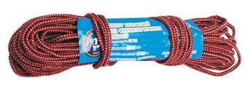 Веревка хозяйственная  плетёная с наполнителем В-30 (5 мм, 20 м)