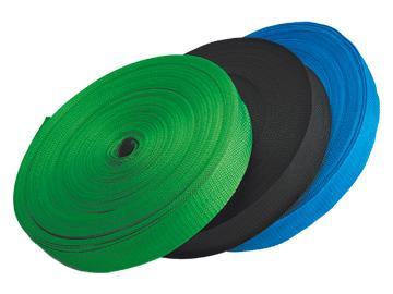 Лента капроновая цветная 25 мм, 50 м