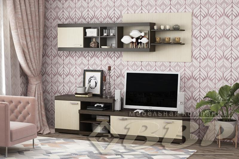 Фото Стенки и мебель для гостиной  Стенка/ТВ тумба Лидер-9 (ВВР)