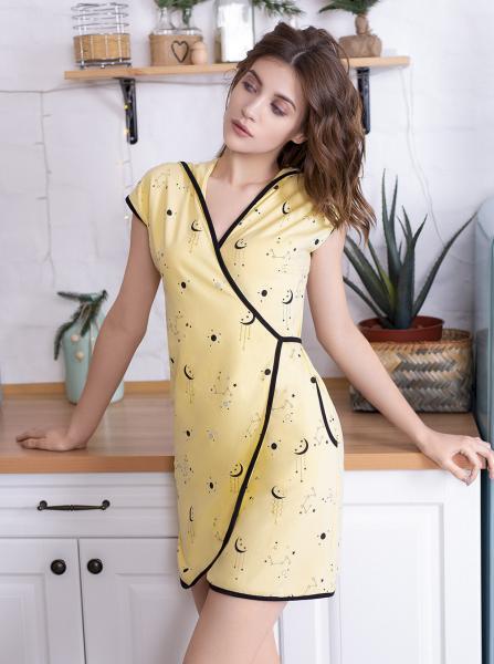 Фото Халат женский Женский халат с капюшоном Star Magic