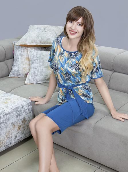 Комплект женской одежды с шортами и футболкой Flash