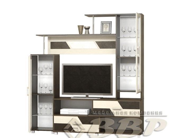 Фото Стенки и мебель для гостиной  Стенка/ТВ тумба Нота-9 (ВВР)