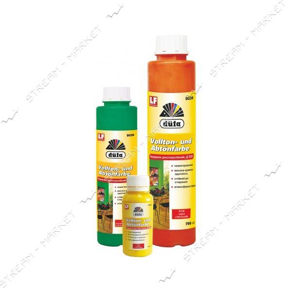 Пигмент для водоэмульсионной краски DUFA Д230 оранжевый №102 250 мл