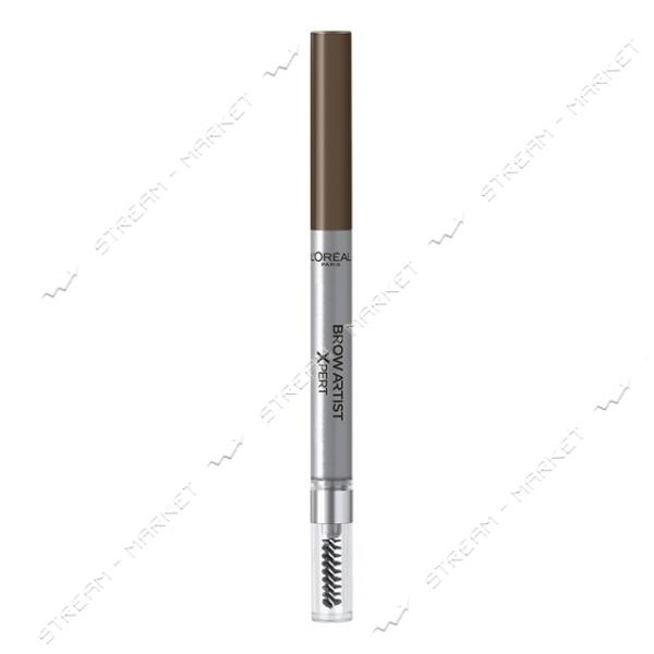 """Карандаш для бровей L""""Oreal Paris Brow Artist Xpert 107 Холодный коричневый 1г"""