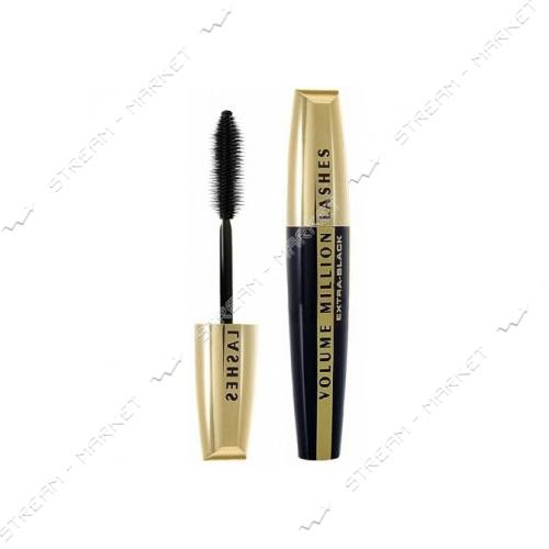"Тушь для ресниц L""Oreal Paris Volume Millions Lashes Extra-Black 9мл"