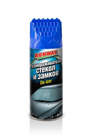 Размораживатель стекол и замков Runway RW6084 400 мл аэрозоль