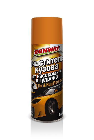Очиститель кузова от насекомых и гудрона Runway RW6089 450 мл аэрозоль