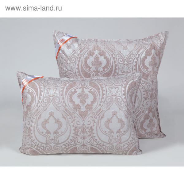 Подушка стёганная 70х70 см, шерсть овечья, ткань тик, п/э 100%