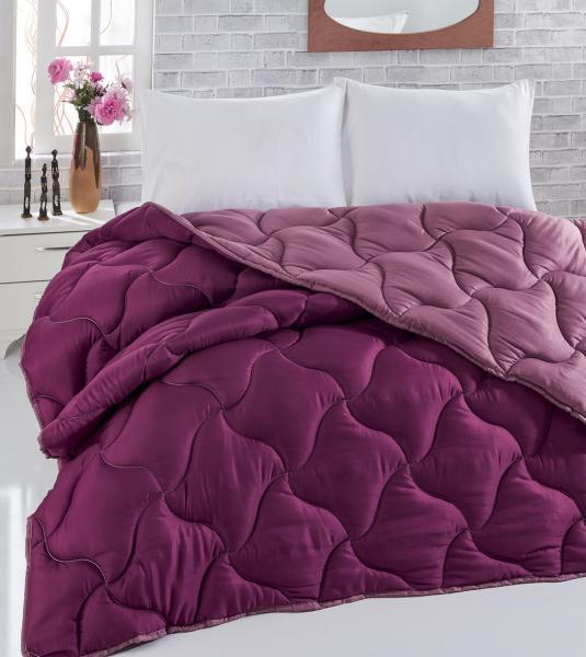 Одеяло стёганое двустороннее Фиолетово-малиновое