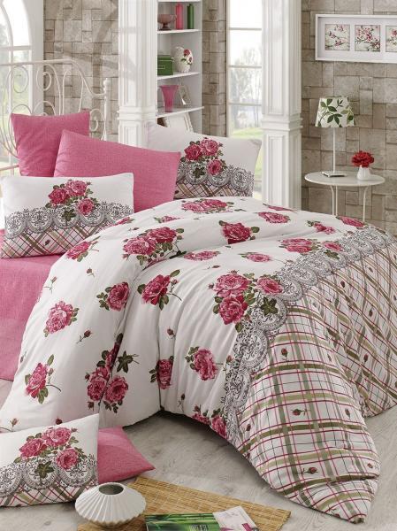 Комплект постельного белья Яркие пионы