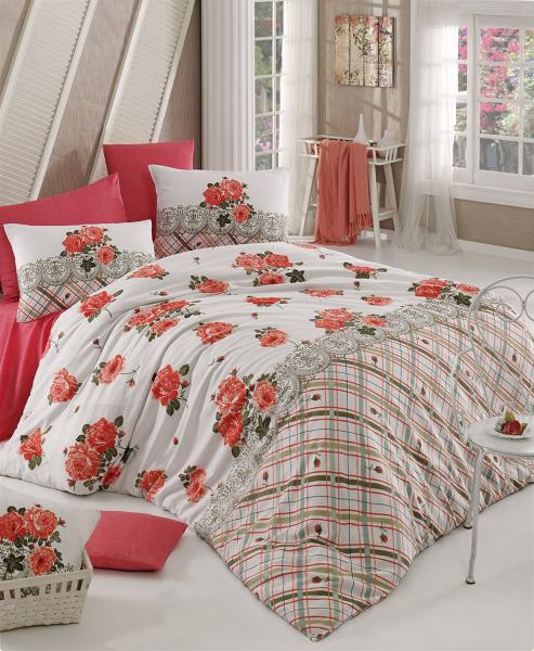 Комплект постельного белья Яркие пионы 2
