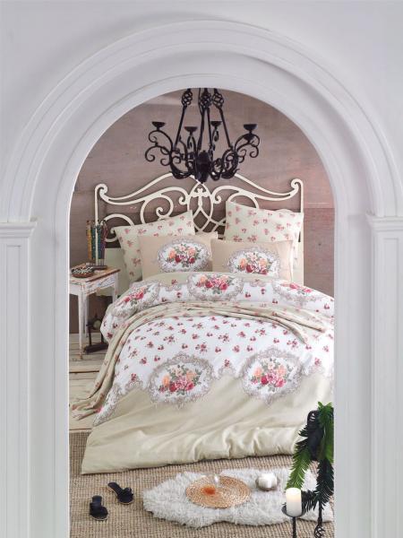 Комплект постельного белья Бежевый уют