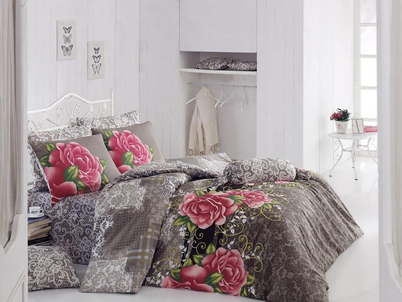Комплект постельного белья Роскошь (серая)
