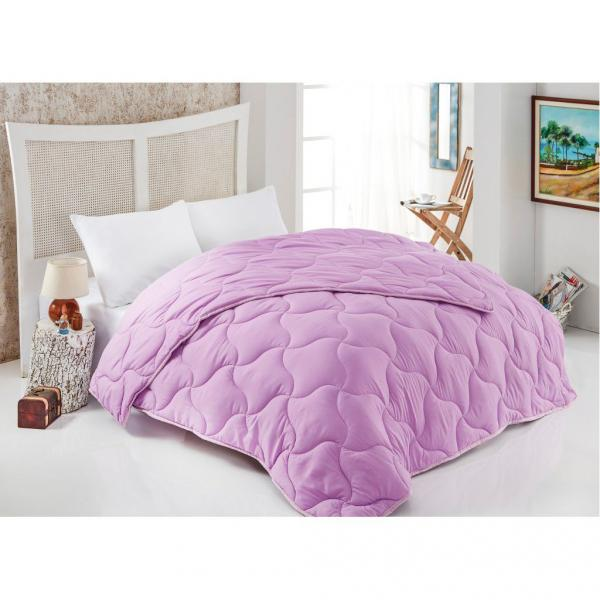 Одеяло стёганое Нежно-лиловое