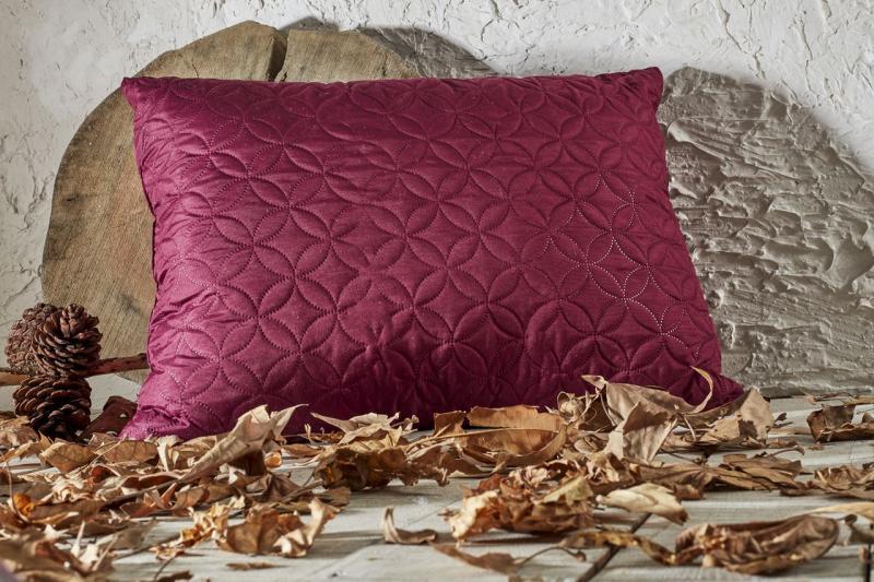 Фото Подушки Стёганая подушка Бордо