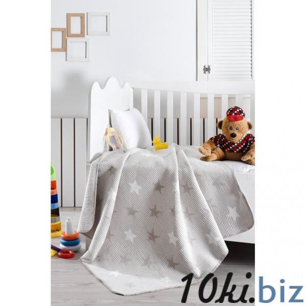 Плед детский Звёзды на сером Детские пледы, одеяла в России
