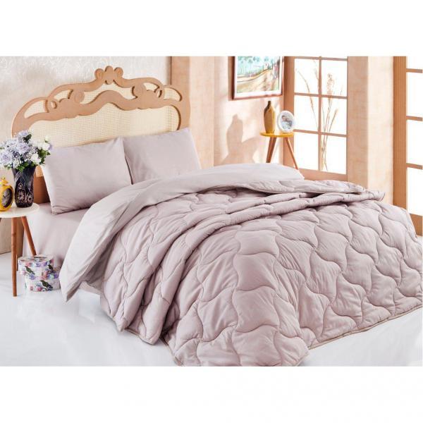 Комплект Одеяло + постельное бельё Розовый