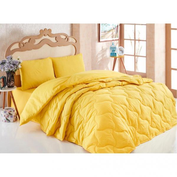 Фото Одеяла Комплект Одеяло + постельное бельё Жёлтый