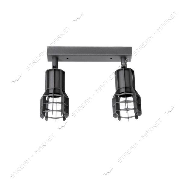 Светильник потолочный Atmolight Spoty C L80-2 BlackPearl Е27 металл черный с перламутром