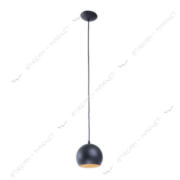 Светильник потолочный Atmolight chime Bowl P150 BlackM/Gold Е27 металл черный с золотом