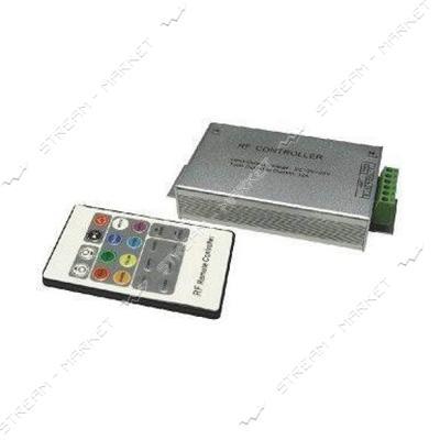 Контроллер для светодиодной ленты RGB 11А радио пульт 20 кнопок