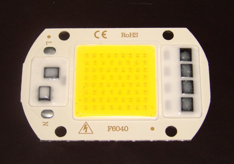 Светодиод 220 V 50 W Бренд PARKSON чип Epistar прожектор освещение