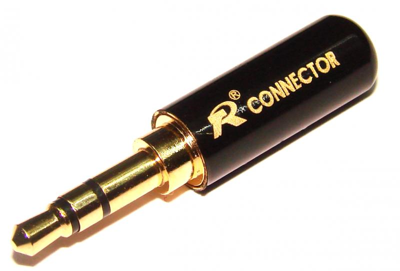 Штекер джек 3,5 стерео CONNECTOR