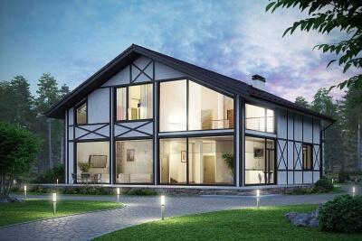 Остекление домов, безрамное остекление, панорамное остекление, деревянных, каркасных домов, установка.