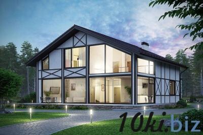 Остекление домов, безрамное остекление, панорамное остекление, деревянных, каркасных домов, установка.  Услуги по строительству в России