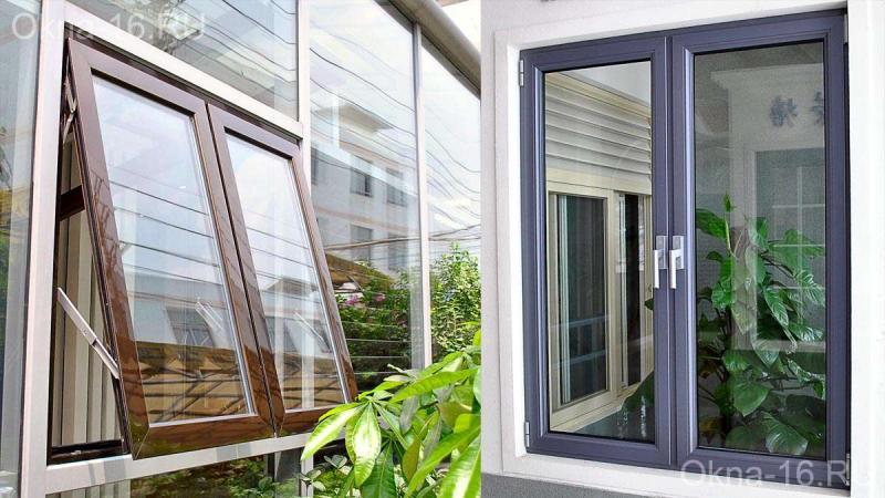 Алюминиевые окна, двери, установка, монтаж, изготовление