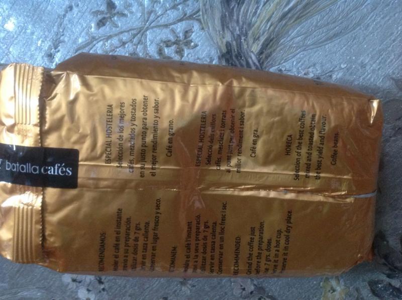LA GARZA MARFIL VENDING, кофе в зёрнах, упаковка 1 кг