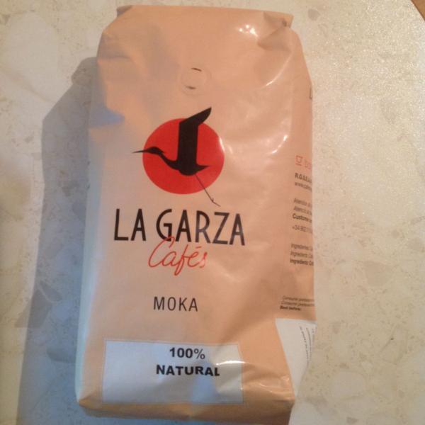LA GARZA MOKA, кофе в зёрнах, упаковка 1 кг.
