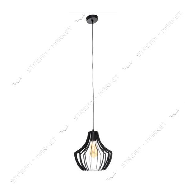 Светильник потолочный Atmolight ArtS1 P260 BlackPearl Е27 металл черный с перламутром