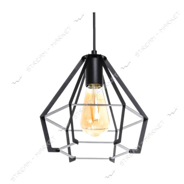 Светильник потолочный Atmolight ArtS3 P200 BlackPearl Е27 металл черный с перламутром