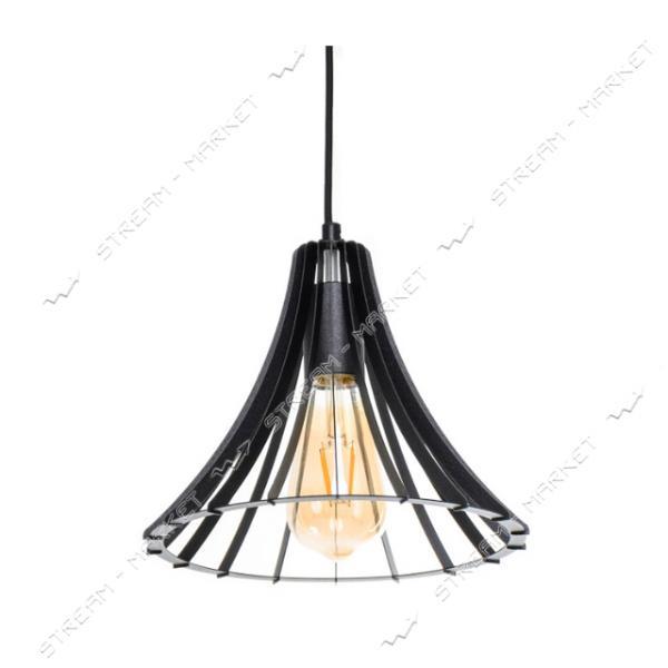 Светильник потолочный Atmolight ArtS4 P235 BlackPearl Е27 металл черный с перламутром