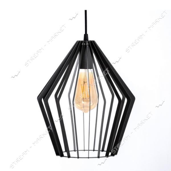 Светильник потолочный Atmolight ArtВ1 P260 BlackPearl Е27 металл черный с перламутром