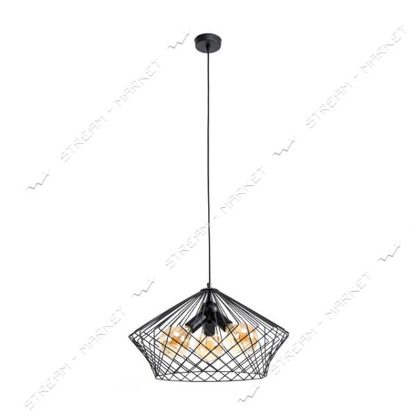 Светильник потолочный Atmolight capella Brill P510 Black Е27 металл черный