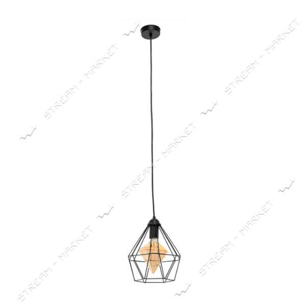Светильник потолочный Atmolight capella Crystal P235 Black Е27 металл черный
