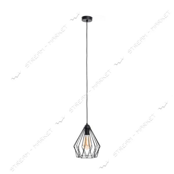 Светильник потолочный Atmolight capella Dribble P210 Black Е27 металл черный