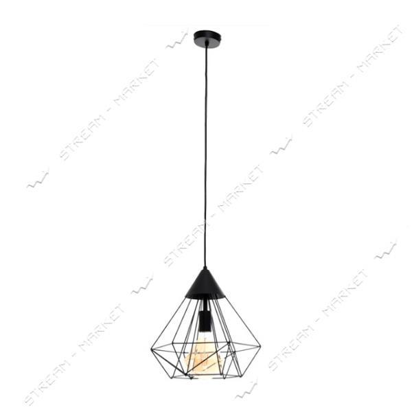Светильник потолочный Atmolight capella Prism P315 Black Е27 металл черный